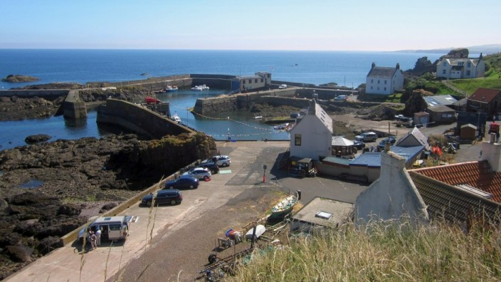 The harbour at St Abbs