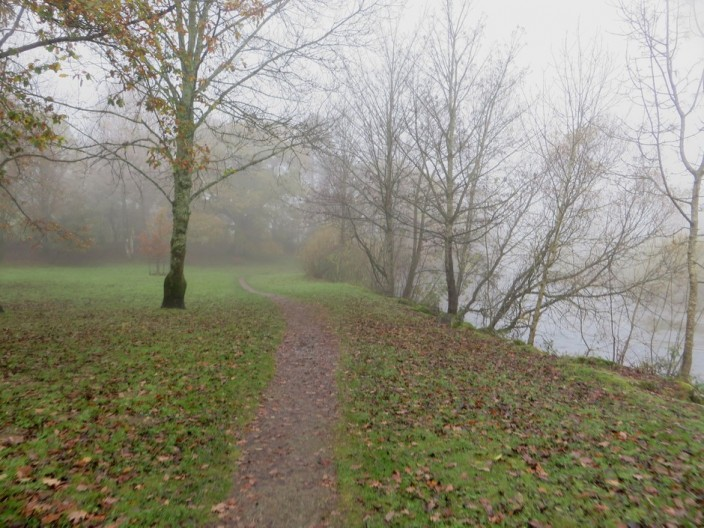 Path beside the River Derwent