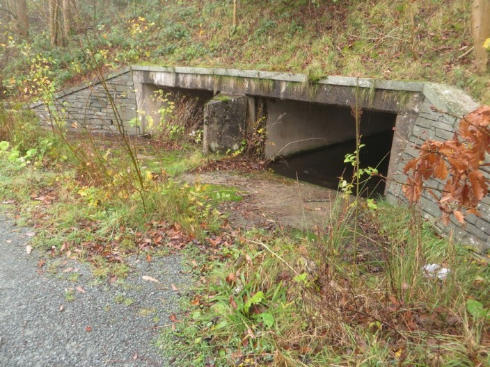 Culvert under Derwent Bridge