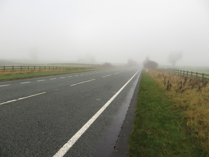 The A66 road at Thornthwaite