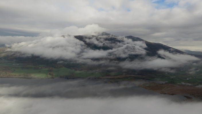 Skiddaw viewed from Barf