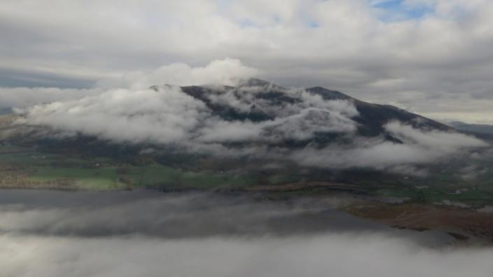 Skiddaw viewed from Barf