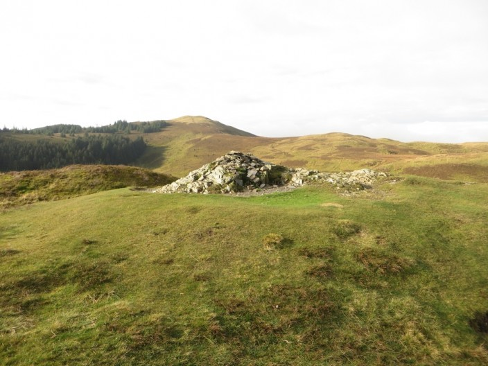 Barf summit and cairn