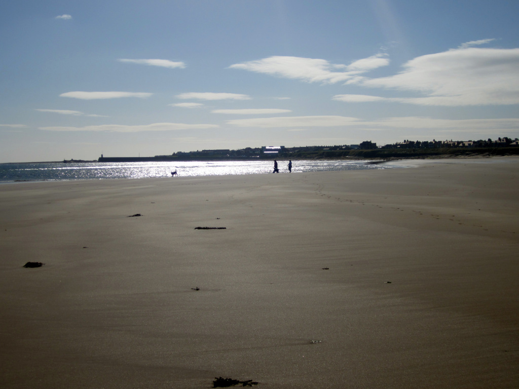 bamburgh to high newton by