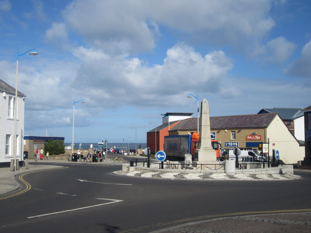 Centre of Seahouses