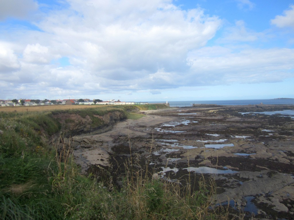 Cliffs south of Seahouses