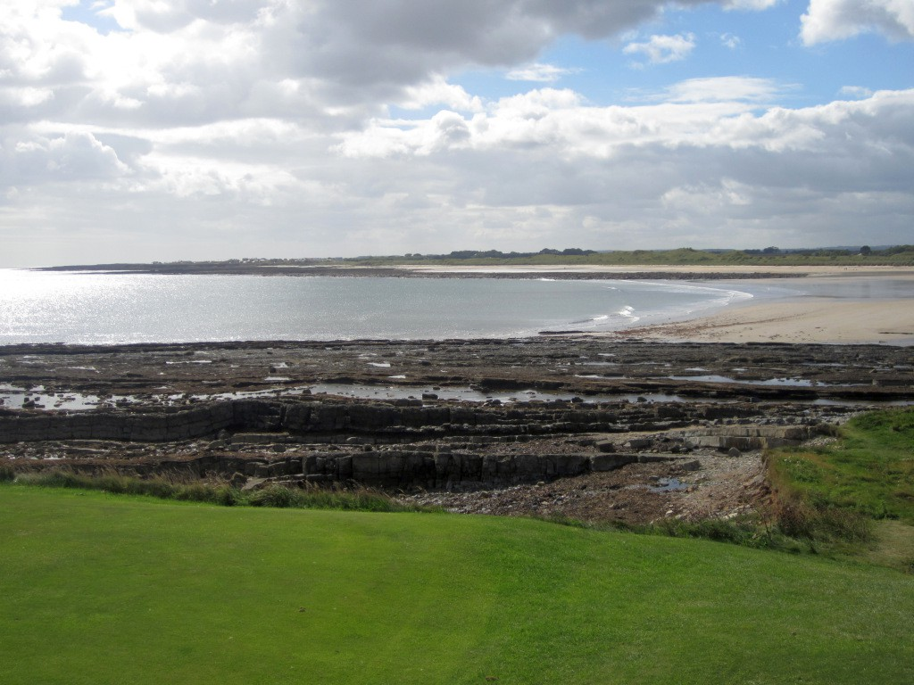 The coast to the south of Seahouses
