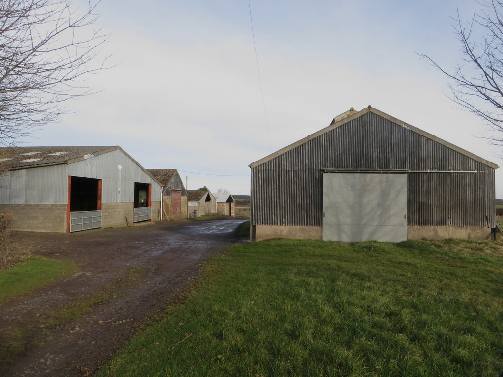 Farm buildings at Adderstone Lowmill