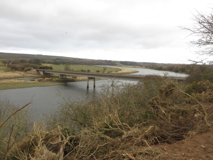 The A1 bridge across the River Tweed