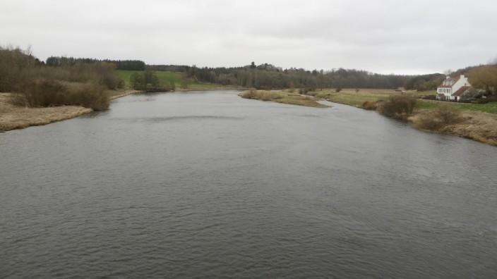 View upstream from the Union Chain Bridge