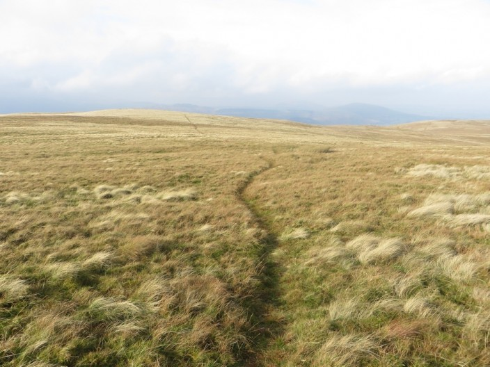 The path to Loadpot Hill