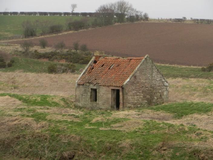 Stone hut on St Thomas's Island