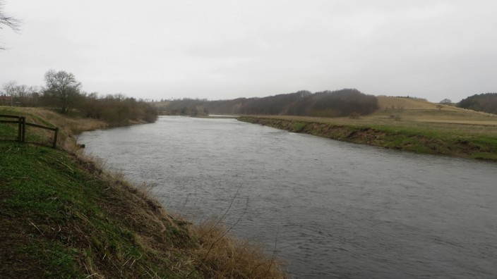 The River Tweed at Norham