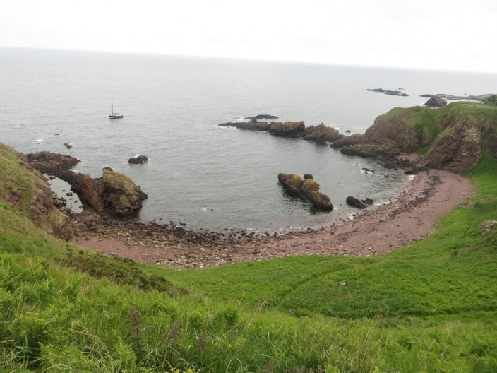 Starney Bay, to the north of St Abbs