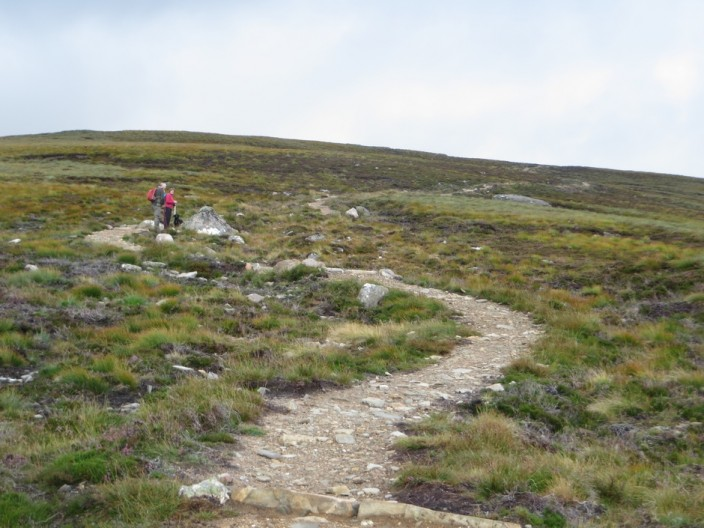 Footpath on Bynack More
