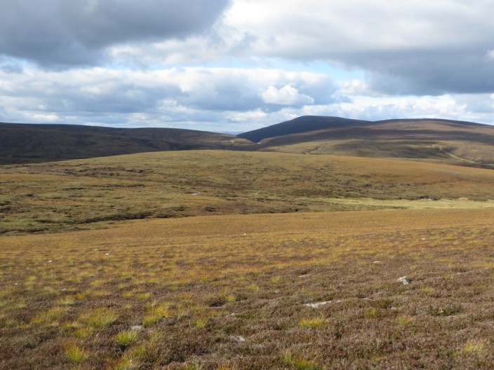 Extensive moor to the south of Cnap na Cul-ath