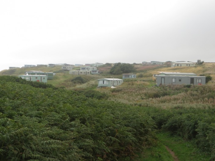 Caravans in the dunes