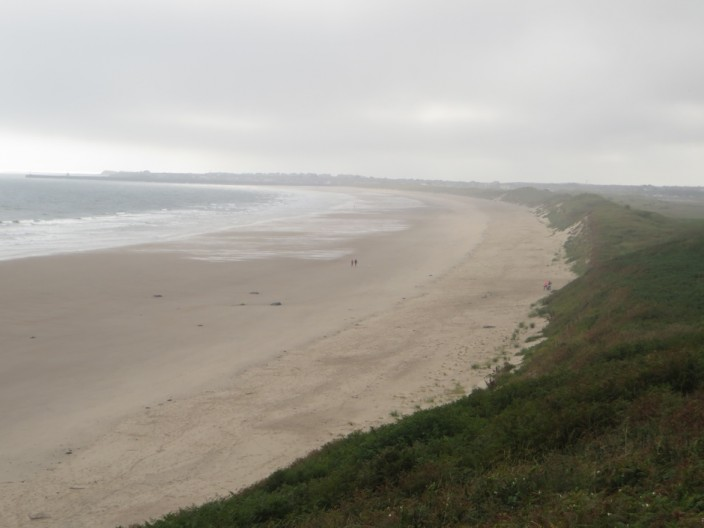 The beach north of Warkworth