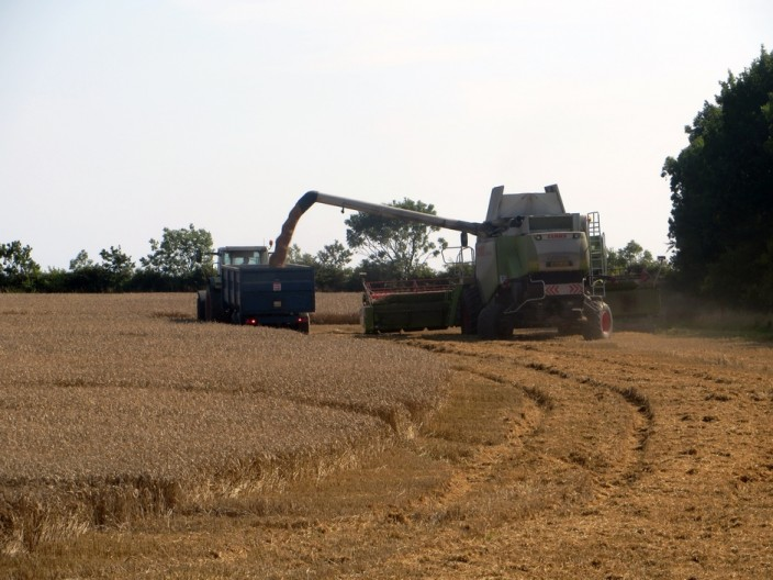 Combine at Tughall
