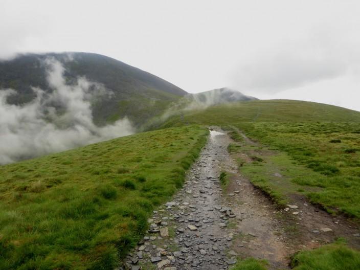 Footpath on Longside Edge