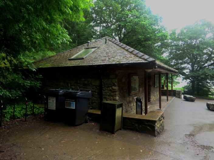 Toilets at Dodd Wood