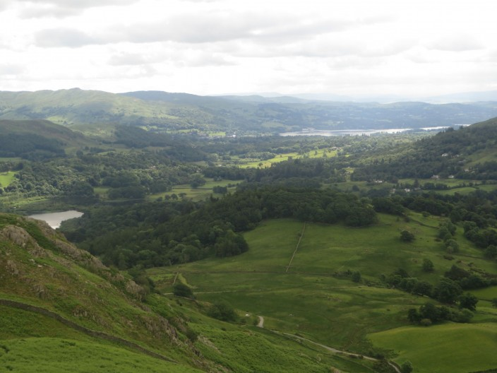 The View towards Windermere