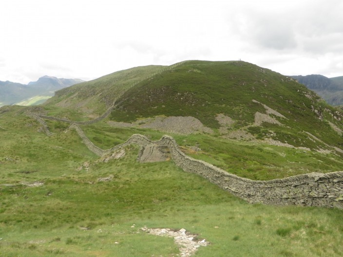 Wall on Lingmoor Fell