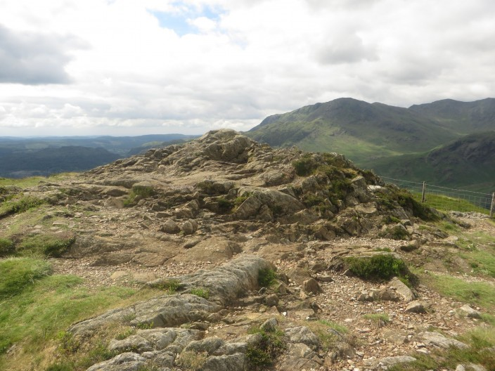 Summit of Lingmoor Fell