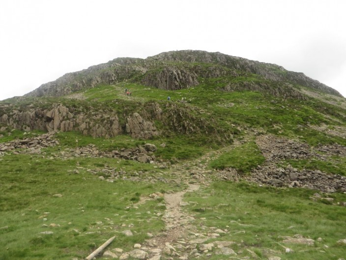 Path from Scarth Gap to Haystacks