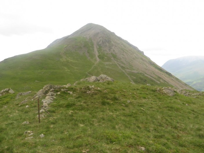 HIgh Crag viewed from Seat
