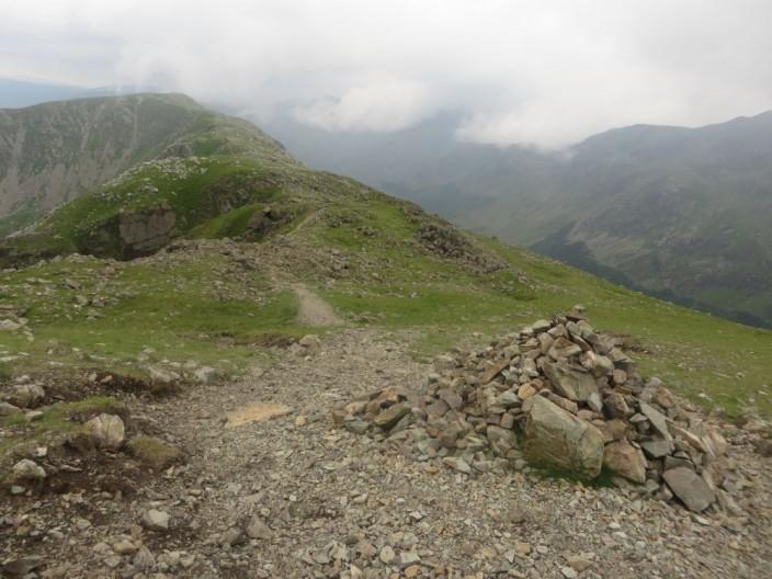 High Stile summit cairn
