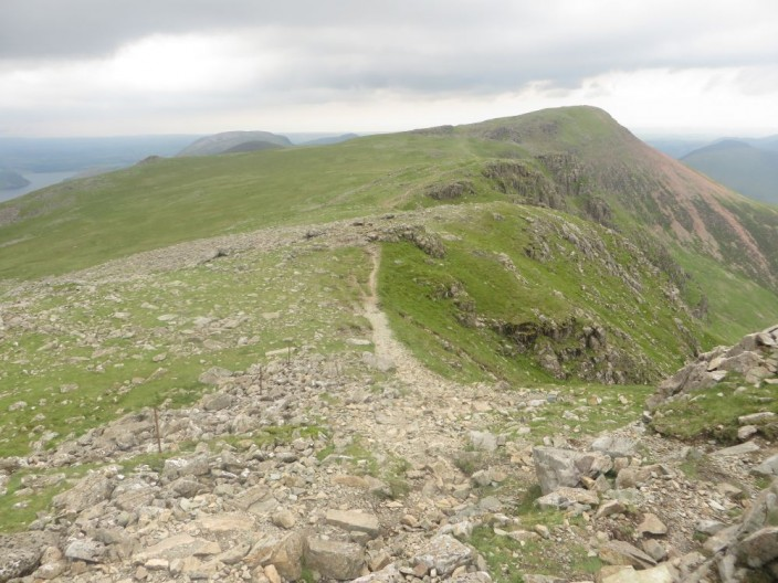 Path from High Stile to Red Pike